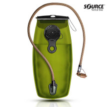 Source Tactical WXP 3L Storm Valve Hydration Bladder 100 oz Coyote Brown Tube