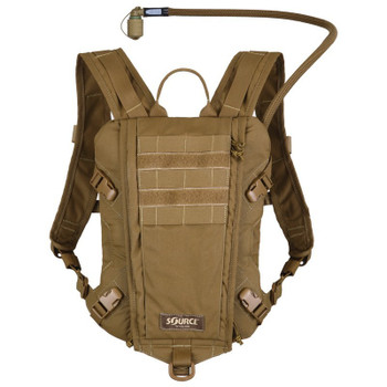 Source Hydration Rider 3 Liter 100 oz Low Profile Hydration System Coyote Brown