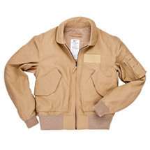 Cockpit USA Nomex CWU Modified 36P Lightweight Jacket Tan USA Made
