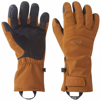 Outdoor Research Inception Aerogel Gloves Saddle/Black