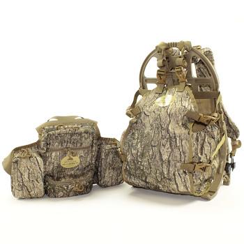 Pack Rabbit Elite Turkey Hunter Game Carrier + Chest Vest Combo Set