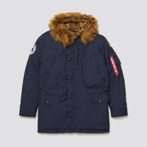 Alpha Industries Alpine Parka Replica Blue