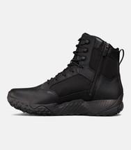 UA Tactical Men's Stellar Tac Side Zip Boot Black