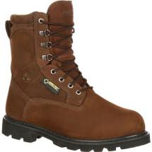 Rocky Ranger Steel Toe Gore-Tex Waterproof Insulated Work Boots Brown