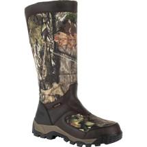 Rocky Sport Pro Waterproof Side-Zip Snake Boot in 16 Inches and Mossy Oak