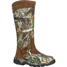 Rocky Red Mountain Waterproof Back Zip Snake Boot Olv/Treebark