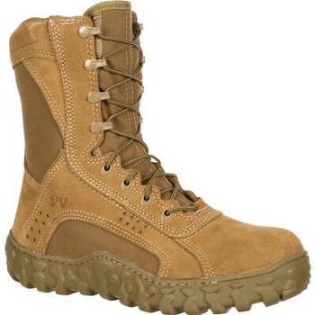 Rocky S2V Ventilated Military Duty Boot Coyote Brown USA Made