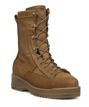 Belleville Hot Weather Steel Toe Flight Boot Coyote Brown USA Made