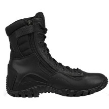 KHYBER Hot Weather Lightweight Side-Zip Tactical Boot Black