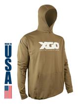 XGO Phase 4 Performance Heavyweight Logo Hoodie USA Made