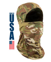 XGO FR Phase 2 Midweight MultiCam 2pc Balaclava USA Made Berry Compliant