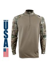 XGO Performance Defense Base Layer (DBL) Combat Shirt Multicam USA Made