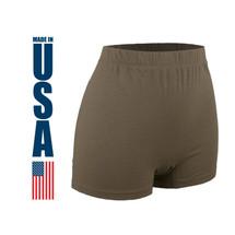 XGO Women's FR Brief Tan 499 USA Made