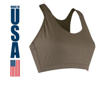 XGO Women's FR Bra Tan 499 USA Made
