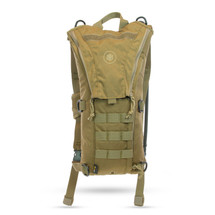 Aquamira Tactical Rigger Hydration Pack Coyote Brown