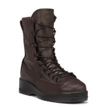 Belleville Wet Weather Steel Toe Flight Boot Chocolate Brown USA Made