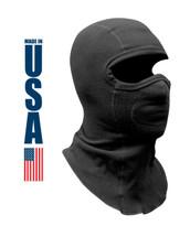 XGO Heavyweight Fleece Performance Balaclava Black USA Made
