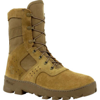 Rocky USMC Tropical Boot Coyote Brown USA Made USMC Certified