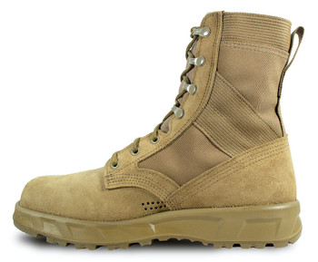 McRae T2 Ultra Light Hot Weather Steel Toe Combat Boot Coyote Brown USA Made