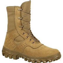 Rocky Boots S2V Enhanced Jungle Puncture Resistant Boot Coyote Brown USA Made