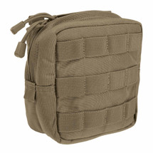5.11 Tactical 6.6 Padded Pouch Sandstone Molle / Slick Stick