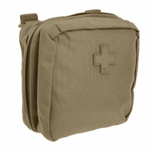 5.11 Tactical 6.6 Med Pouch Sandstone, Molle, Pals, Military, Medic, LE