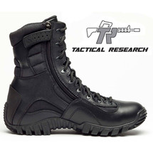 Belleville Tactical Research Khyber Lightweight Waterproof Side-Zip Tactical Boot Black