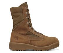 Belleville 550 ST USMC Hot Weather Steel Toe Boot (EGA) Coyote Brown USA Made