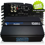 INCRIMINATOR AUDIO IA40.1 4800W RMS AMPLIFIER W/ SPLITFORCE TECHNOLOGY