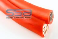 1/0 AWG OFC 50ft Spool - Sky High Car Audio