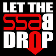 "SSA Let the Bass Drop Decal 6"" x 6"""