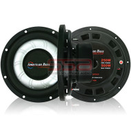 American Bass SL 10 Inch Slim Line 250w RMS SVC 4 Ohm Subwoofer