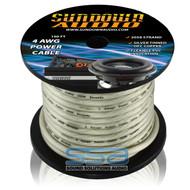 Sundown Audio 4 AWG OFC Silver 100ft Power Cable Spool