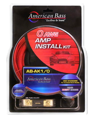 AMERICAN BASS 0 AWG CCA AMP KIT