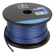NVX XW8BL200 8-Gauge Power/Ground Cable (Blue Color 200 Feet)