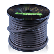 4 gauge OFC pure copper power cable - 100 foot spool - Black