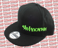 SHTNONM Black / Green Snap Back Hat