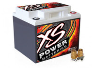 XS Power 12V AGM Starting Battery, Max Amps 2,600A  CA: 725A
