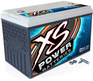 XS Power 14V BCI Group 31 AGM Battery, Max Amaps 5,000A  CA: 1,100A  Ah: 86