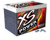 XS Power 16V BCI Group 34 AGM Starting Battery, Max Amps 2,000A  CA: 500A  Ah: 25