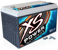 XS Power 16V BCI Group 31 AGM Battery, Max Amaps 5,000A  CA: 1,100A  Ah: 86