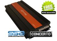 Crescendo Audio C1100.4 - 300 watts x 4 channel Concerto Series Amplifier