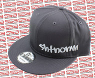 SHTNONM Gray / White Snap Back Hat