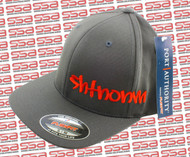 SHTNONM Gray / Red Flexfit Hat