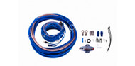 ORION XTR WIRED COMPLETE 100% COPPER AMPLIFIER KIT 4 GAUGE SOFT RUBBER