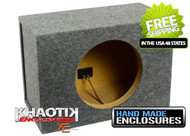 "Sealed Single 12"" Subwoofer Enclosure"