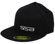 SSA Flat Brim Hat | Black