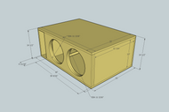 4 Woofer Enclosure Design
