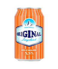 Hartwall Gin & Orange 330ml cans (case of 24)