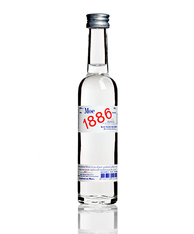 Rye 1886 Organic Vodka 40% 50ml Miniature